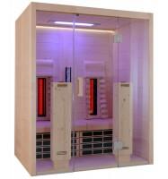 Infrarotkabine VitaMy: versch. Ausführungen, 164x125x200 cm, 2 Personen