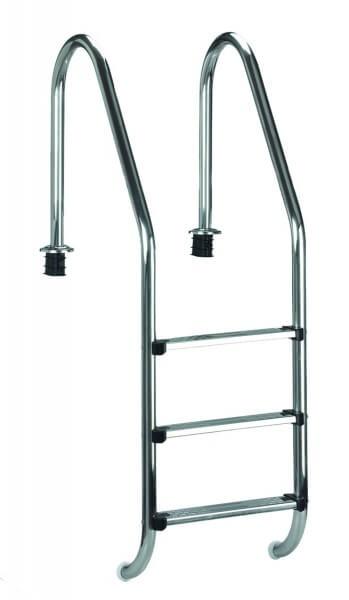 Einbauleiter Edelstahl Weit 175 cm (05491)
