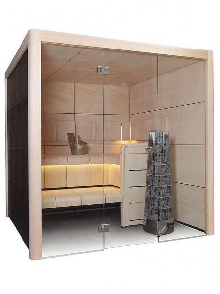 Sauna Claro S2116LS, 207x159x207 cm, 2 Personen