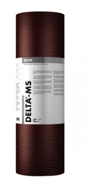 Delta MS Feuchtigkeitssperre für Holzpools