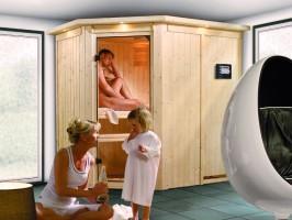Sauna Carin, 152x210x202 cm, 2 Personen