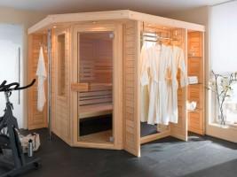 Sauna Supreme, ab 129x129x210 cm, 2 Personen