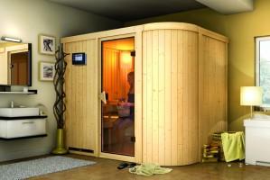 Sauna Titania 4, 231x170x198 cm, 2 Personen