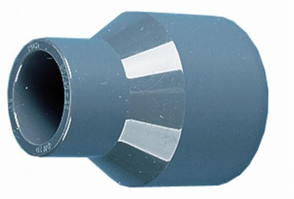 Reduzier-Stutzen, lang, 63-50-50 mm