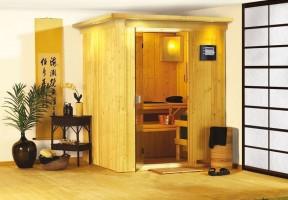 Sauna Minja, 165x165x202 cm, 2 Personen