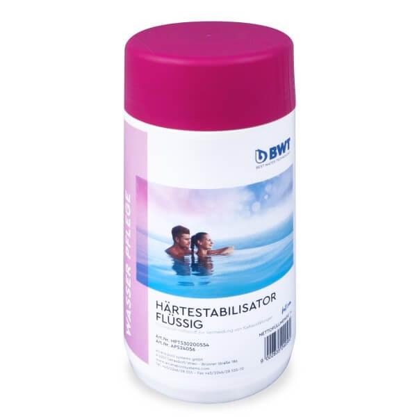 BWT AQA marin Härtestabilisator, Poolwasser-Hilfsstoff, 1 l