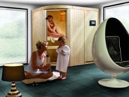 Sauna Lavea, 196x152x198 cm, 2 Personen