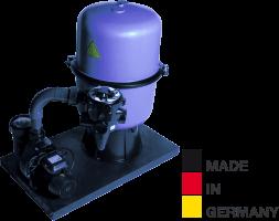 Sandfilteranlage HP 400/A8, Ø 400mm, 8m³/h, bis 40m