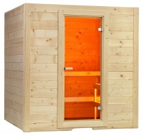 Sauna Basic Medium, 156x195x204 cm, 2 Personen
