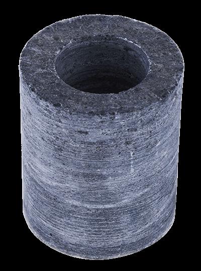 Specksteinaufgussschale (zylindrisch)