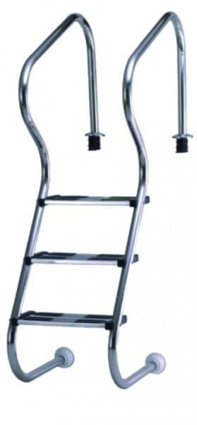 Einbau-Treppenleiter Edelstahl 120 cm (3AS)