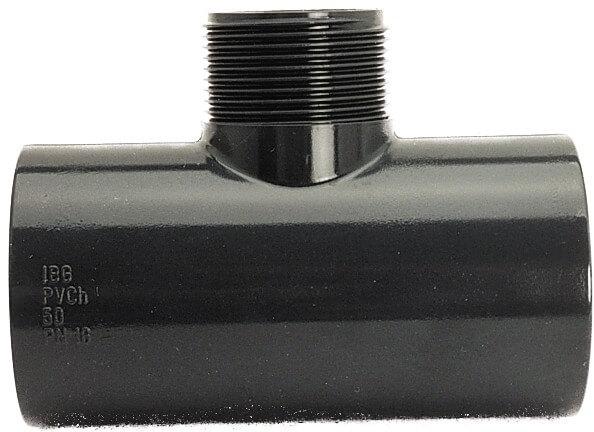T-Stück reduziert, egal, 50-25 mm