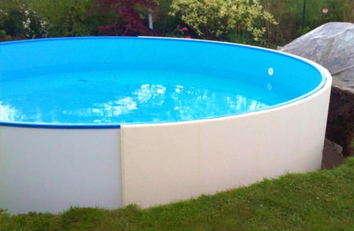Pool ohne beton conzero einbauset im apoolco onlineshop - Gfk pool einbau ohne beton ...