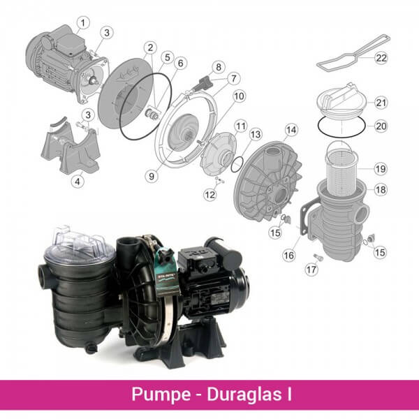 Pumpenplatte 5P2R (ab 2009)