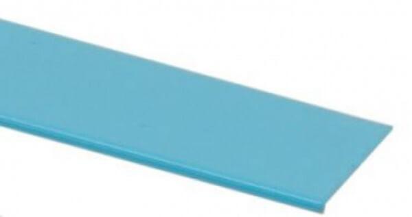 Folienblechstreifen mit Umbug KS beschichtet