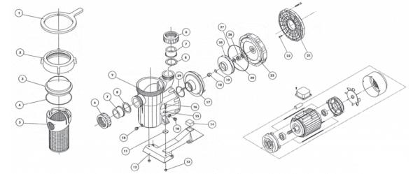 Vorfilterschlüssel für Astral Victoria (4404130103)