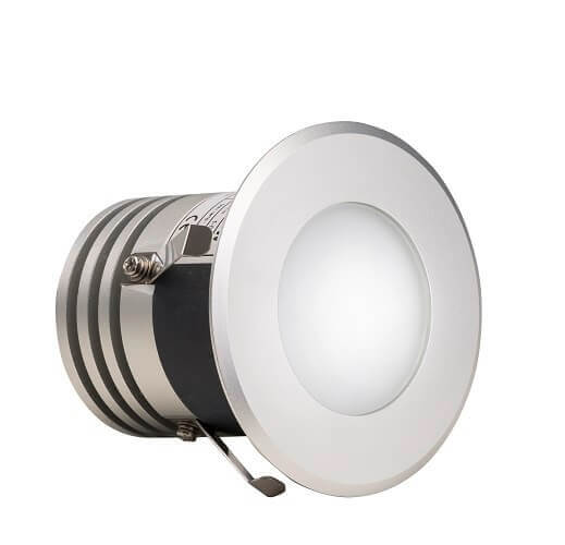 LED-Spot rund 5 W, 90x90 mm