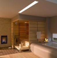 Sauna Comfort, 212x195x220 cm, 3 - 4 Personen