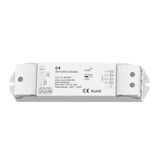 DMX Funk Treiber für LED Spots 33,6 W