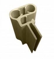Handlaufpaket für Ovalpool, 737 x 360 cm, sand-style