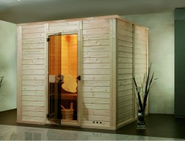 Sauna Casita Komplettset, ab 160x160x200 cm, 3 Personen