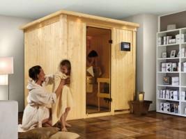 Sauna Sodin, 210x184x202 cm, 2 Personen