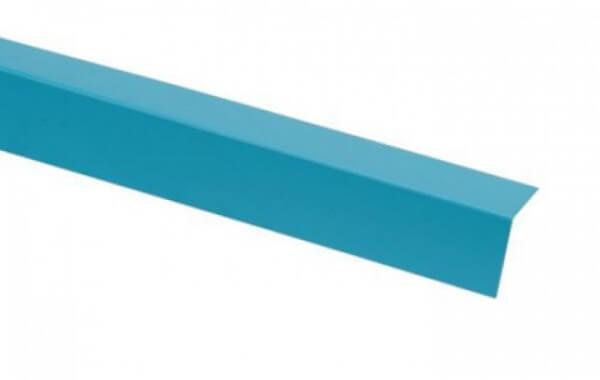 Folienblechwinkel einseitig PVC beschichtet