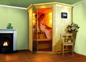 Sauna Nanja, 165x165x202 cm, 2 Personen