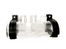 Transparenter Elektroden- & Injektorhalter + O-Ring für TECNO/TECNO-pH