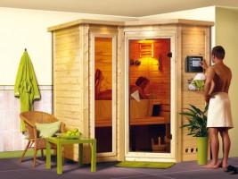 Sauna Sahib 1, 221x198x212 cm, 2 Personen