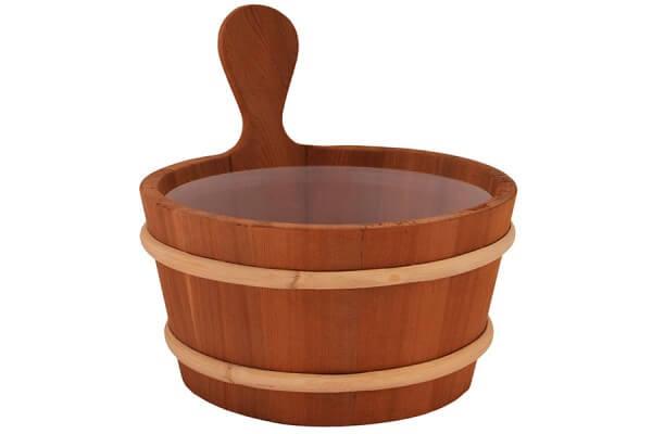 Saunakübel 4 Liter, Zeder