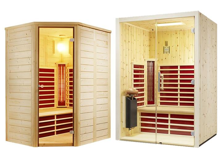 infrarotkabinen die besten marken und hersteller apoolco pool wellness outlet. Black Bedroom Furniture Sets. Home Design Ideas