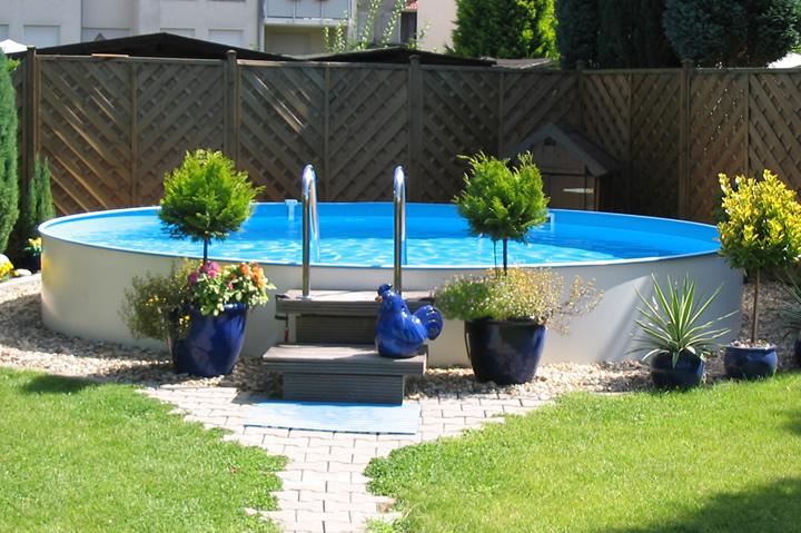 Prime serie hochwertige stahlwandpools zum bestpreis for Garten pool 2m tief